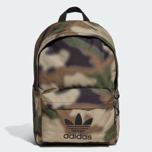 New Adidas Blurred Camouflage Backpack Bag